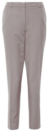 **Tall Taupe Ankle Grazer Trousers