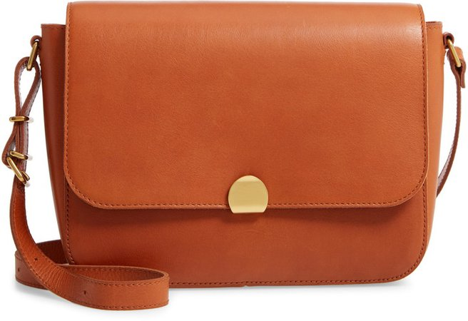 The Abroad Leather Shoulder Bag
