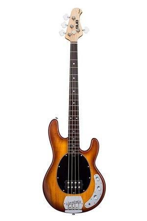 Amazon.com: Sterling by Music Man S.U.B. Series Ray4 StingRay Bass, Black: Musical Instruments
