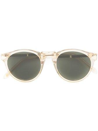 yellow Karen Walker Hemingway sunglasses