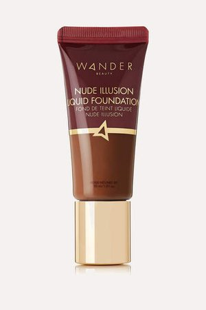 Wander Beauty - Nude Illusion Liquid Foundation - Rich Deep