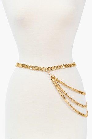 gold chain belt - Google Search