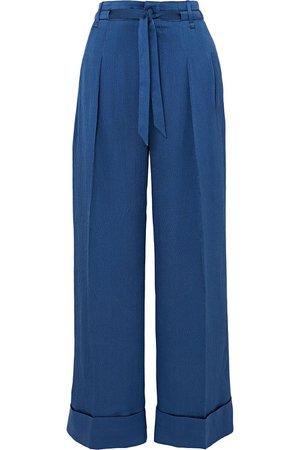royal blue wide leg pants - Google Search