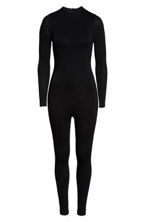 Naked Wardrobe Long Sleeve Jumpsuit   Nordstrom