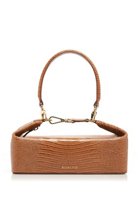 Rejina Pyo Olivia Lizard-Effect Leather Bag