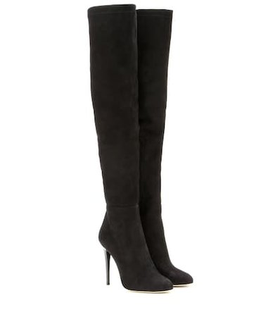 Turner 110 suede over-the-knee boots