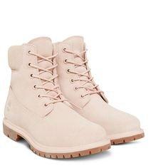 Timberland boots winter powder pink