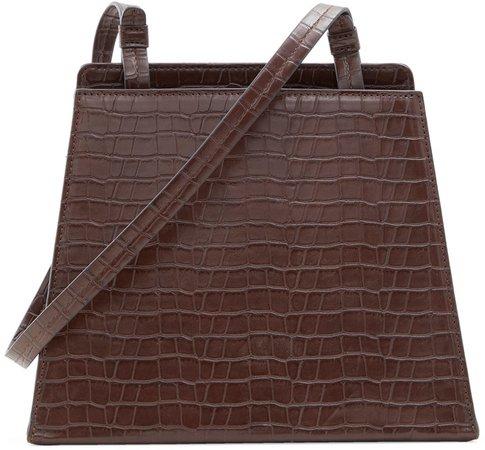 Jeanie Faux Leather Crossbody Bag