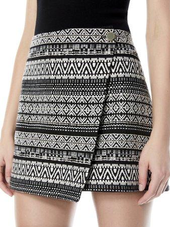 Renna Button Front Skirt