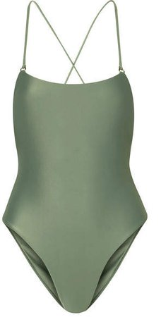 Tether Swimsuit - Army green