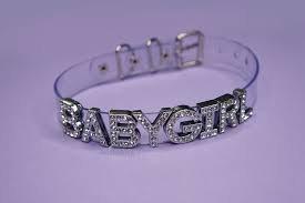 silver babygirl choker - Google Search