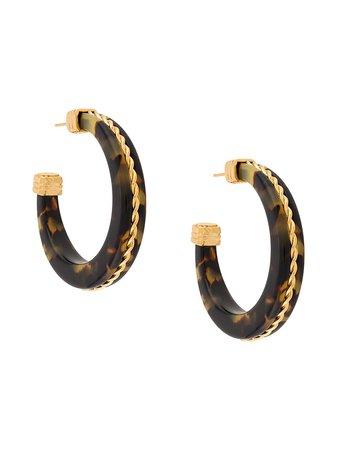Gas Bijoux, Caftan hoop earrings