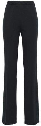 Ribbed Jersey Flared Pants