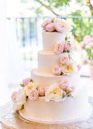 light pink and white beach wedding cake - Google Search