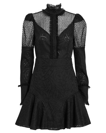 Madilyn Puff Sleeve Mini Dress