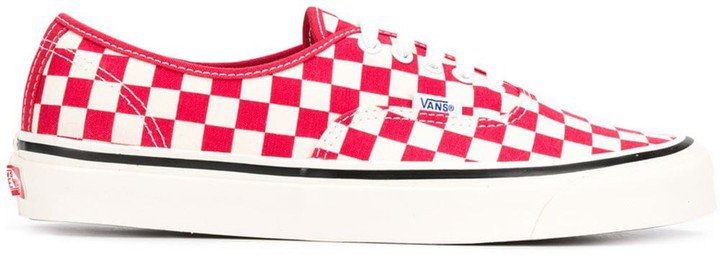 checked Authentic 44 DX sneakers
