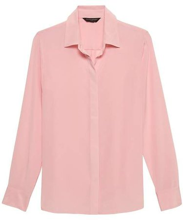 Dillon Classic-Fit Washable Silk Shirt