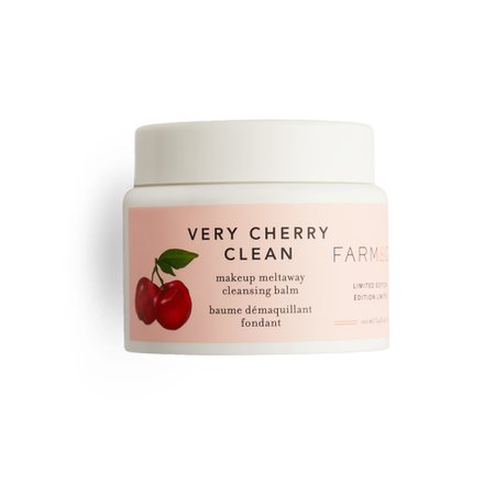 Very Cherry Clean Makeup Meltaway Cleansing Balm with Acerola Cherry | Farmacy Beauty