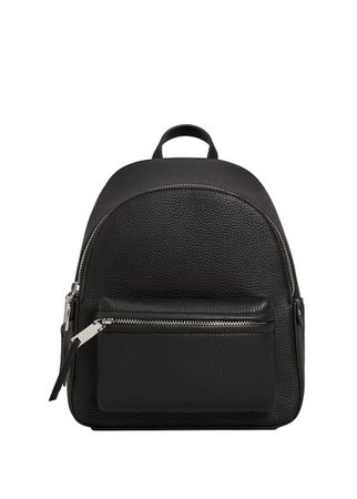 MANGO Pebbled backpack