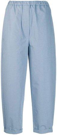 Tela poplin cropped trousers