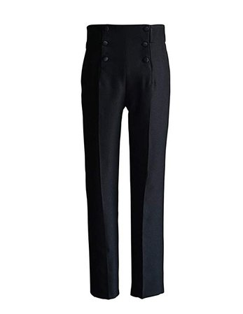 Vintage Dressing Pants Straight Pants Pencil Pants (Medium, Brown) at Amazon Men's Clothing store