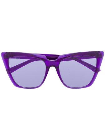 Balenciaga Eyewear Tip Cat eye-frame Sunglasses - Farfetch