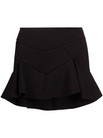 Versace flared mini skirt black A87566A237082 - Farfetch