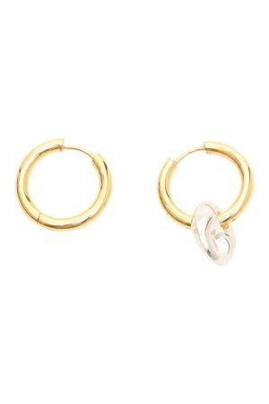 Timeless Pearly Single Pendant Earrings