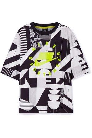 Nike | Oversized printed cotton-jersey T-shirt | NET-A-PORTER.COM