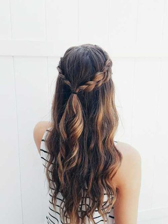 Hair of the day :) on We Heart It