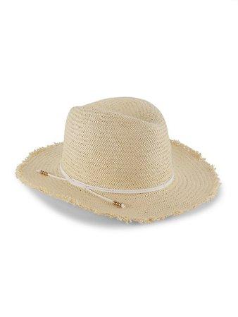 Hat Attack Packable Fringed Straw Travel Hat | SaksFifthAvenue