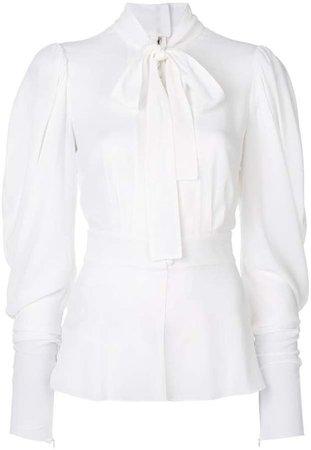 dolce and gabbana blouse white shirt