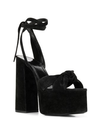 Saint Laurent Paige high platform sandals