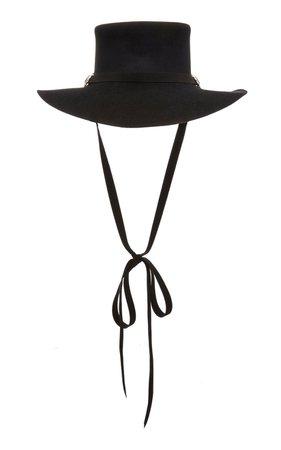 Longing Gaucho Angora Hat by Clyde | Moda Operandi