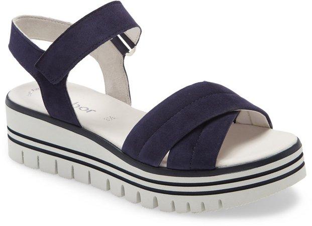 Crisscross Ankle Strap Sandal