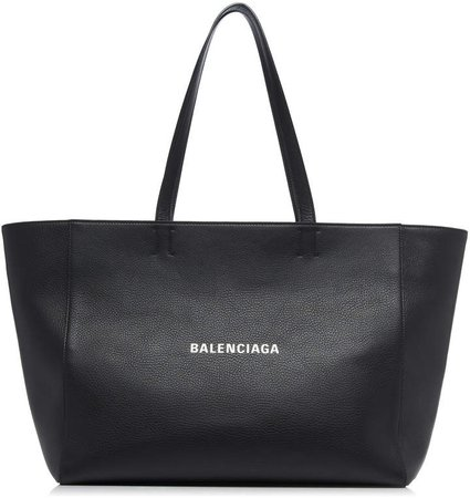 Everyday Leather Logo Tote