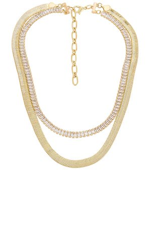 Amber Sceats Layered Necklace in Gold | REVOLVE