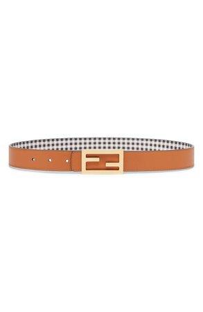 Fendi Reversible Leather Belt | Nordstrom