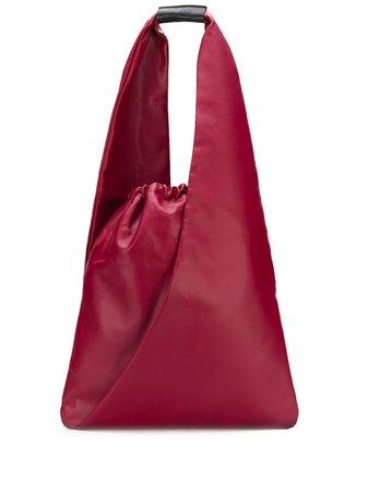 Red MM6 Maison Margiela satchel tote bag - Farfetch