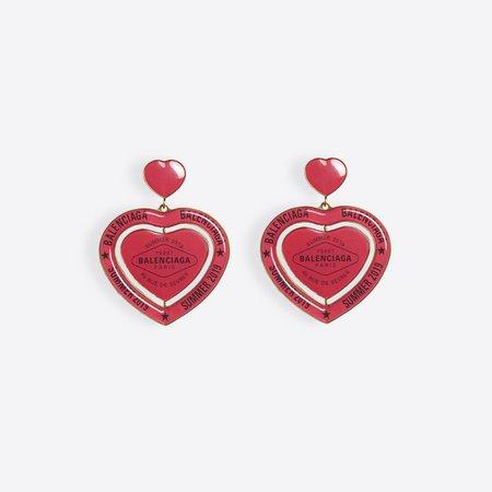   Casino Heart Earrings  for Women | Balenciaga