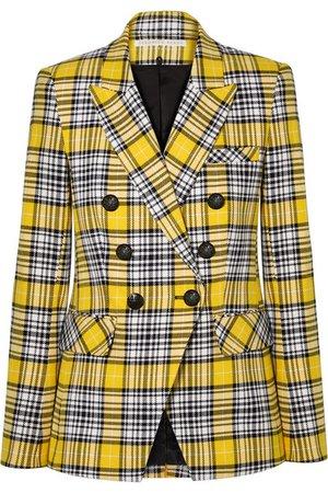 Veronica Beard | Miller Dickey checked cotton-blend blazer | NET-A-PORTER.COM