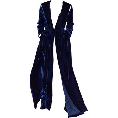 Velvet Blue Robe