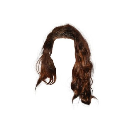 Brown Side Swept Hair
