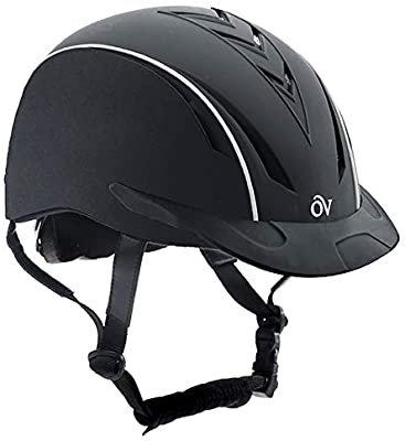 Amazon.com : Ovation Unisex Sync Riding Helmet, Black, Medium/Large : Equestrian Helmets : Sports & Outdoors
