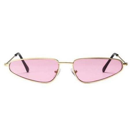 Womens Fashion Vintage Retro Cat Eye Triangle Sunglasses UV400 Eyewear Glasses | eBay