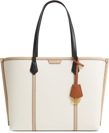 Perry Colorblock Leather Tote