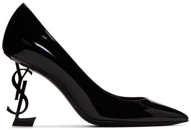 Black Opyum 85 Heels