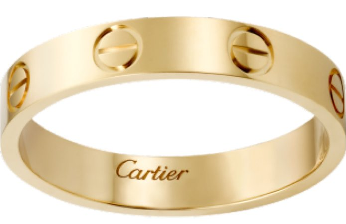 Cartier gold love ring