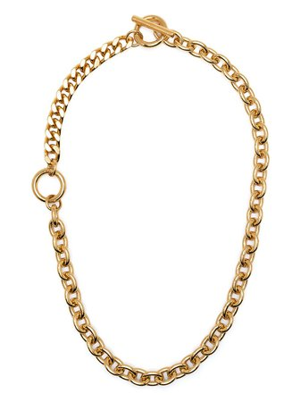 NUMBERING Double Toggle Chain Necklace - Farfetch