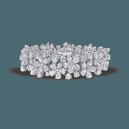 Carissa Bracelet, Diamond | Graff